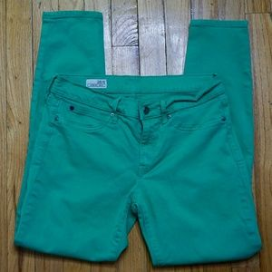 GAP Green Legging Jean 28/6